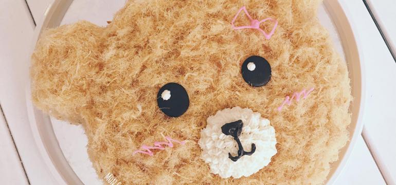 Bông lan trứng muối gấu