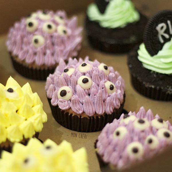 Halloween Cupcakes by Mon Chéri