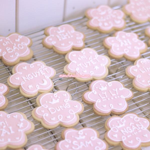 bánh quy vẽ hình