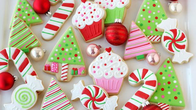 Bánh quy giáng sinh dễ thương