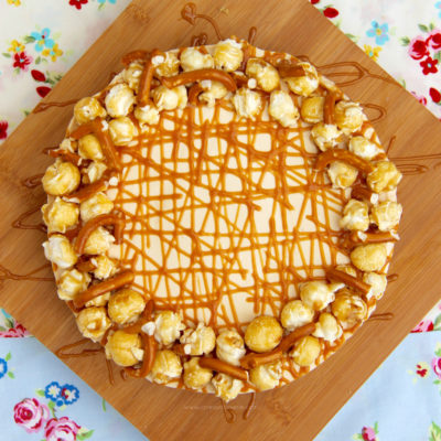 Caramel cheese cake