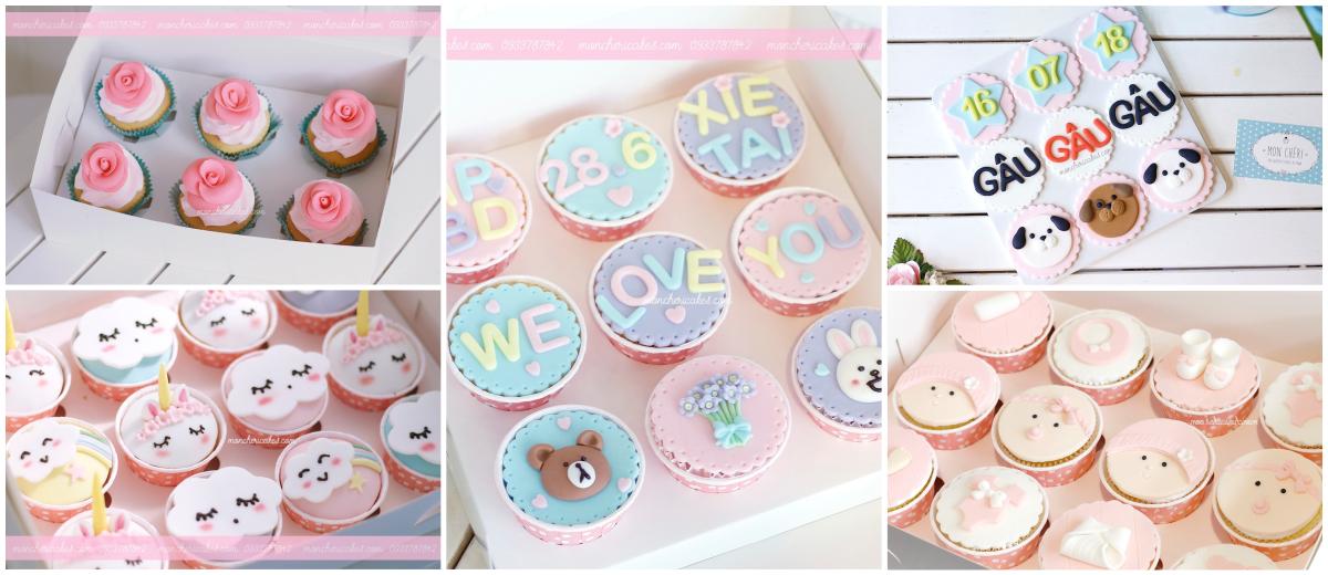 Cupcakes - Moncheri